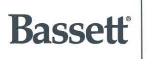 bassett gray with line logo