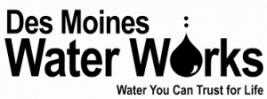 des moines water works logo