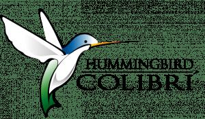 hummingbird colibri logo