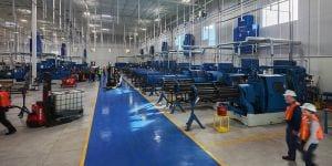 Loud Manufacutring Floor